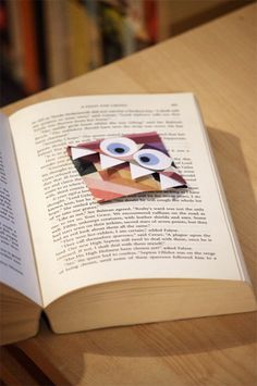 Cute monster bookmark