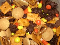Our Dish: Fall Snack Mix