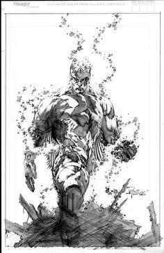 Inhumans: Blackbolt by Philip Tan Comic Book Artists, Comic Artist, Comic Books Art, Art Sketches, Art Drawings, Jobs In Art, Art Folder, Marvel Comics Art, Comic Pictures
