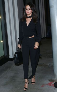 Selena Gomez from The Big Picture: Today's Hot Pics  The stylish singer is seen getting some dinner at Catch in Los Angeles.
