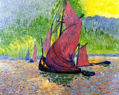 bofransson: Red Sails Andre Derain - 1906