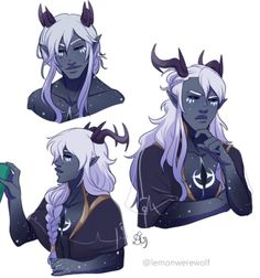 One of the only known startouch elves, Aaravos. Prince Dragon, Dragon Princess, Dnd Characters, Fantasy Characters, Character Concept, Character Art, Character Names, Elf Man, All Meme