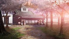 Anime Landscape: Building Anime Landscape