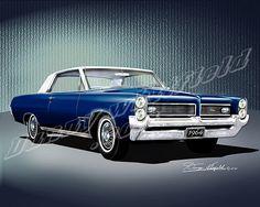 1964 PONTIAC GRAND PRIX (Nocturne blue)