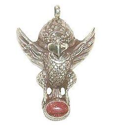 Garuda pendant with sand stone.