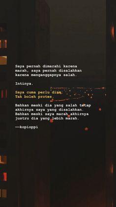 Bio Quotes, Tumblr Quotes, Text Quotes, Words Quotes, Quran Quotes, Quotes Inspirational, Broken Home Quotes, Cinta Quotes, Quotes Galau