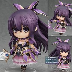 AmiAmi [Character & Hobby Shop] | Nendoroid - Tohka Yatogami
