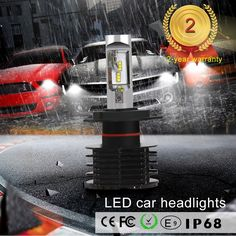 75.00$  Watch now - http://alitya.worldwells.pw/go.php?t=32770351662 - Car styling KSEGA high lumen and good effect of light shape 5s led h4 headlight for car and motorcycle