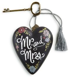 DEMDACO Art Hearts - Mr. and Mrs. $14.95