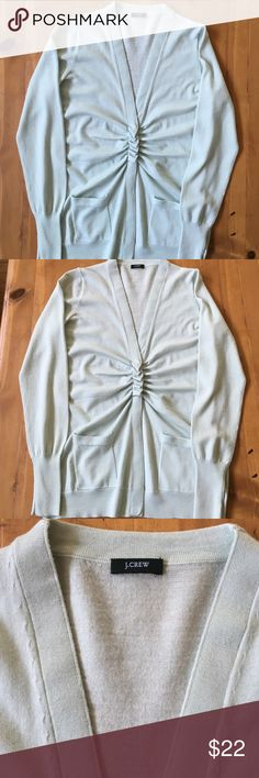 J.Crew Sweater Size large long sleeve 3 button cardigan very pretty 26 in long J. Crew Sweaters Cardigans