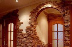 10 wunderbare Ideen die Wände mit Steinen zu dekorieren! - Seite 2 von 10 - DIY Bastelideen