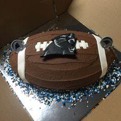 Carolina Panthers cake 2-7-16