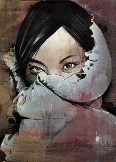 """""""Loubielou"""" by Russ Mills."""