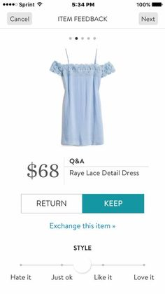 Lace Detail, Stitch Fix, Off The Shoulder, How To Wear, Dresses, Fashion Ideas, Style, Vestidos, Swag