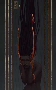 Alyssa would have nightmares where she was bathed in orange light and it trickled away from her, like her soul was being taken.