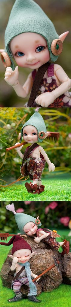 Real Puki.. wish they made dolls like this in the US!  Giselle and Fairah would LOVE them!