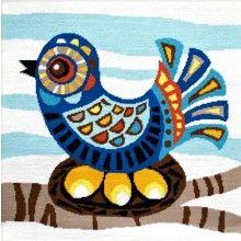 Emily Peacock Retro Moderns - Mid-Century Bird