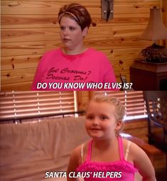 She knows the great American icons. | 40 Reasons Honey Boo Boo Became A National Treasure In2012