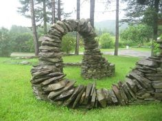 Thea Alvins amazing stone projects