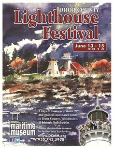 Join the Door County Maritime Museum & Lighthouse Preservation Society, Inc. for 3 days of boat excursions and guided land-based tours at the 21st Annual Door County Lighthouse Festival, June 13-15, 2014. This much-anticipated festival gives visitors access to lighthouses that aren't typically open to the public. Order tickets today at http://www.dcmm.org/events-activities/ or call (920) 743-5958!