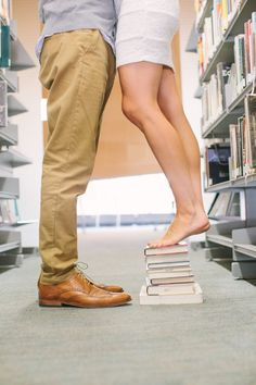 super cute quirky, library engagement