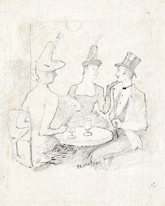 toulouse lautrec, henri de café ||| drawings ||| sotheby's n09741lot9dnyfen