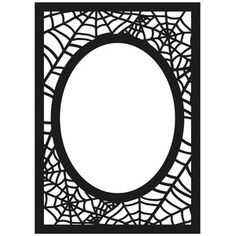 This spiderweb styled frame is perfect for the Halloween season, or for that spooky photo! For more from our Happy Halloween collection please visit: /product/search? Silhouette Clip Art, Silhouette Cameo Projects, Silhouette Design, Silhouette Frames, Silhouette Studio, Halloween Templates, Halloween Clipart, 5x7 Frames, Shadow Box Frames