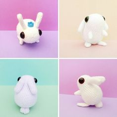 The pattern for this cutie is now available in my store. You can buy it from my Etsy shop but if you buy it from our blog's store instead you'll get an awesome discount! (Links in bio)  #crochet #pattern #tutorial #howto #diy #plushie #toy #cute #animal #bunny #rabbit #kawaii #easter #easterbunny #craftblogger #projectarian #white #pastel #colorful #instacute #amigurumi by projectarian
