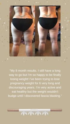 The struggle is over! Click to our website to learn all about Fasciablasting and how it's helping millions of women reach their goals!