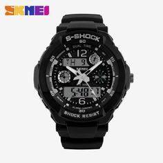 SKMEI Brand Children Sports Watches 50m Waterproof Fashion Casual Quartz Digital Watch Boys Girl LED Multifunction Wristwatches That`s just superb!  #shop #beauty #Woman's fashion #Products #Watch