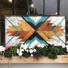 Wood mosaic art to warm any room. Handcrafted by Anna and Nathaneal Bailey in Duluth, Minnesota. Wood Mosaic, Mosaic Wall Art, Stick Wall Art, Diy Wall Art, Barn Wood Projects, Woodworking Projects Diy, Reclaimed Wood Wall Art, Wall Wood, Westerns