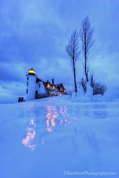 Pt Betsie Lighthouse ... shining | Flickr - Photo Sharing!
