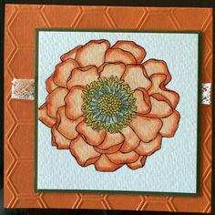 Stampin' Up!! Blended bloom