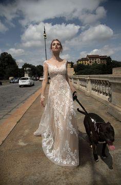 TRISHA #wedding #marriage #weddingdress #abitodasposa #2016 #collection #sposa #bride #bridal #brides #bridalcouture #couture #pink #pinkdress