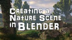 Wayward Art Company writes: Greetings everyone! This video demonstrates how to create a basic nature scene in Blender. Enjoy! Related