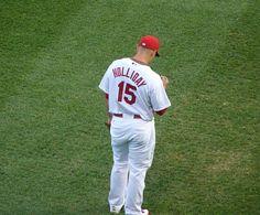 Holliday when he was wearing my very favorite Cardinal player- Jim Edmonds #.  He now wears #7.     <3