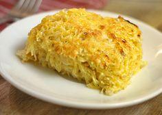 Cheesy spaghetti squash casserole | HellaWella