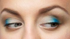 Photo. Beauty. Makeup.: Tutorial. Blue On Eyes