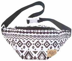 Brand: Extreme BlackFeatures: Fanny pack features a bold black and white tribal print design. The waist bag features two compartments that can be secu Nike High Heels, Jordan Shoes For Women, Oh My Love, Handmade Handbags, Waist Pack, Rave Outfits, Elite Socks, Fanny Pack, Fitness Fashion