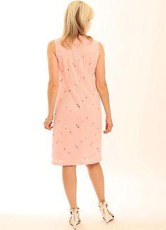 Pomodoro Broiderie Anglaise Shift Dress
