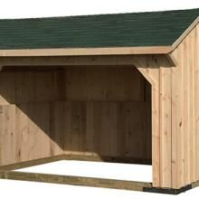 10x16 Run-In Shed