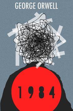 1984 #bookcoverart #bookcoverdesigns