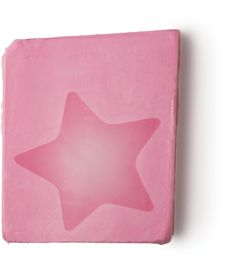 Rock Star - The creamy vanilla sweetie. Here's a soap for all of us who know we ought to be attracted to sophisticated beiges and navy blues, but can't help grabbing everything pink! The Rock Star soap smells just like Creamy Candy Bath, so all you budding starlets can shower and bathe with our sweet vanilla perfume.