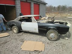 Chevrolet Camaro RS 1967 Barn Find Project Car