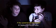 dan and phil five nights at freddy's