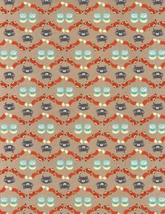 Woodland Wrapping Paper Printable. Customizable wrap for on-theme gift giving.