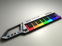 Rainbow Keytar