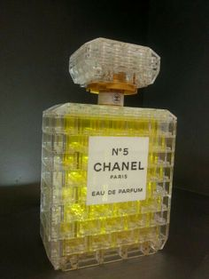 """LEGO Chanel N°5 - If you ♥ LEGO, come have a look at LEGO LOVE board http://pinterest.com/almaisoncloud9/lego-love - I am the French-Israeli designer of """"Mademoiselle Alma"""". Inspired by my daughter, ALMA, I create Jewelry made from LEGO bricks, SWAROVSKI crystals and of course, a great amount of imagination. *** http://www.facebook.com/MademoiselleAlma Hope you LIKE my Facebook page-shop ♥ & http://www.etsy.com/shop/MademoiselleAlma"""