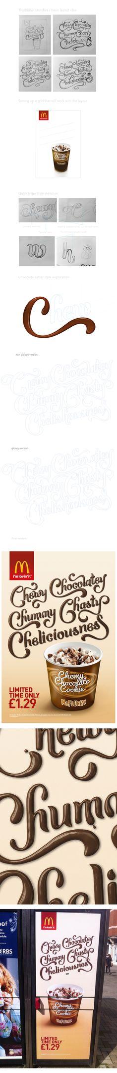 McDonald's McFlurry on Behance