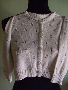 cardigan bimba cotone maglia, by maglieria magica, 32,00 € su misshobby.com